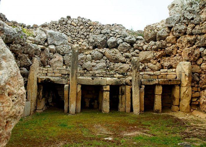 Ggantija, temples, gozo, malta