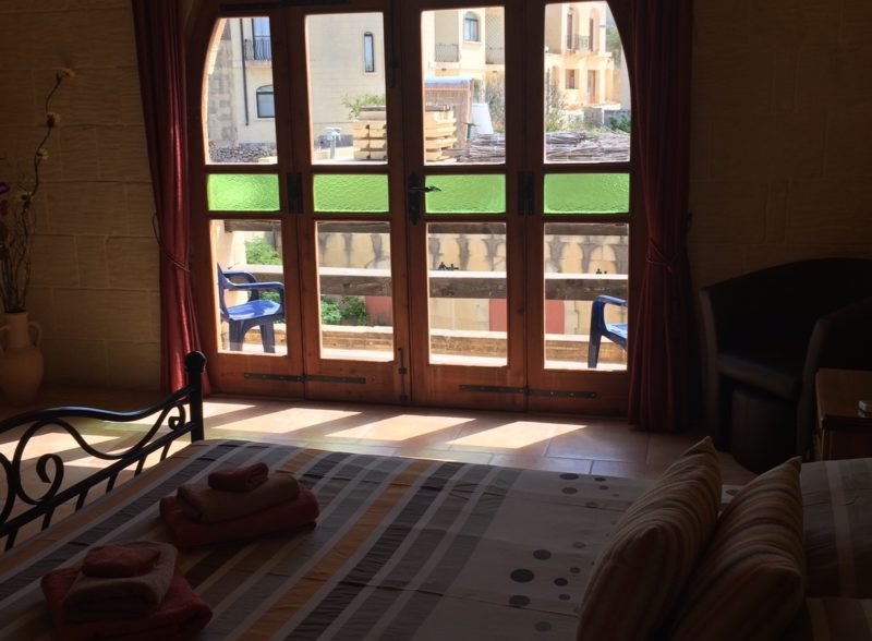 room, rates, lellux, bed, breakfast, gozo